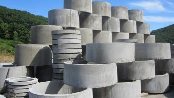Канализационные кольца (бетонные кольца колодцев)